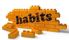 Habit, we form habit and later the habit forms us
